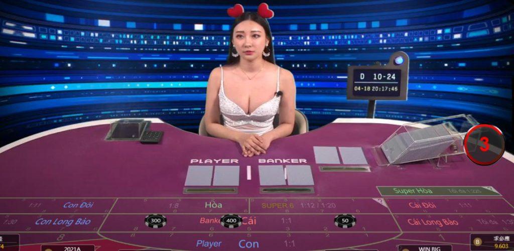 chơi baccarat trực tuyến tại Kubet777